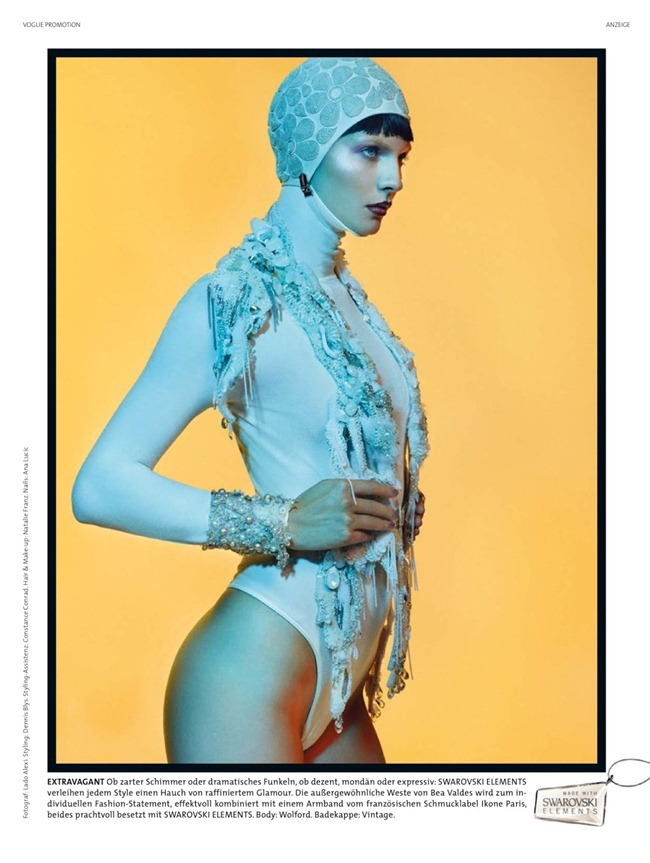 VOGUE GERMANY- Karolin Wolter in Swarovski by Lado Alexi. Dennis Blys, December 2012, www.imageamplified.com, Image Amplified