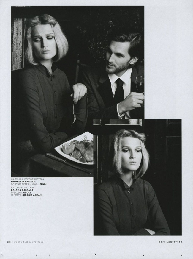 VOGUE RUSSIA- Toni Garrn & Linda Evangelista by Karl Lagerfeld. Ekaterina Mukhina, December 2012, www.imageamplified.com, Image Amplified (5)
