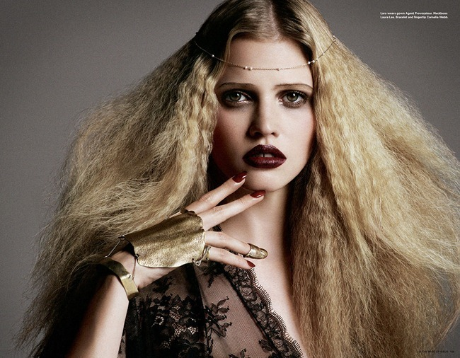 I-D MAGAZINE- Lara Stone & Laetitia Casta in Always Treat Others How You'd Like To Be Treated Yourself by Daniele   Iango. Winter 2012, Charlotte Stockdale, www.imageamplified.com, Image Amplified (3)