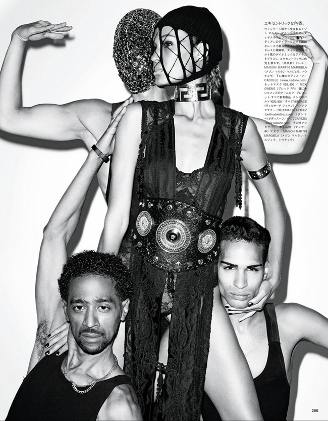 VOGUE JAPAN- Joan Smalls in How to Vogue for Vogue by Terry Richardson. George Cortina, January 2013, www.imageamplified.com, Image Amplified (6)