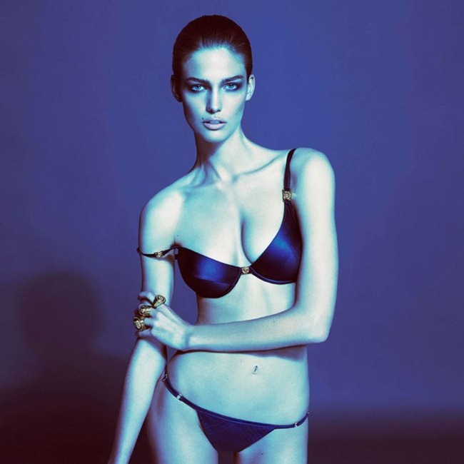 CAMPAIGN- Kendra Spears & Ryan Barrett for Versace Underwear Spring 2013 by Mert & Marcus. www.imageamplified.com, Image Amplified