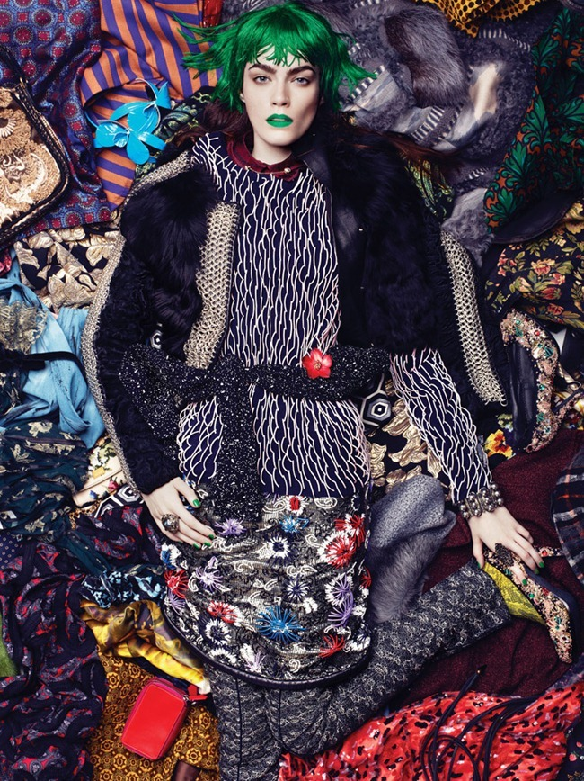 INTERVIEW MAGAZINE- Patrycja Gardygajlo in The Clash by Robbie Fimmano. Vanessa Chow, December 2012, www.imageamplified.com, Image Amplified (2)
