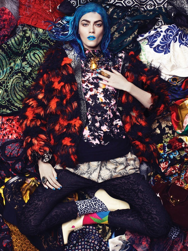 INTERVIEW MAGAZINE- Patrycja Gardygajlo in The Clash by Robbie Fimmano. Vanessa Chow, December 2012, www.imageamplified.com, Image Amplified (4)