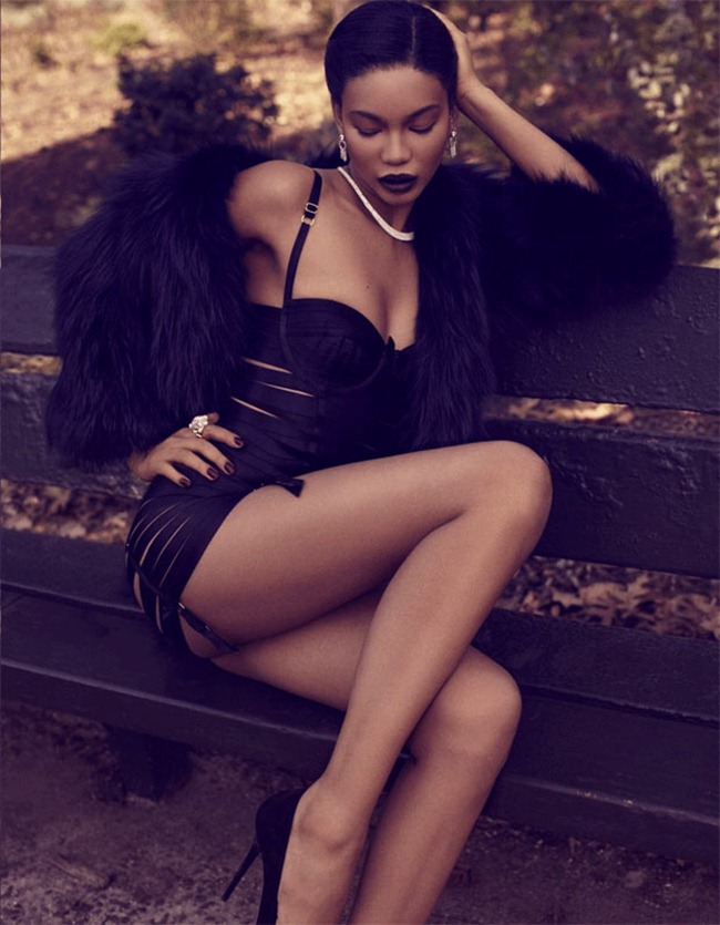 DELUXE MAGAZINE- Chanel Iman in Venus in Furs by David Roemer. www.imageamplified.com, Image Amplified (3)
