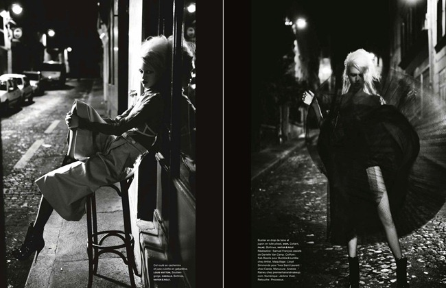 NUMERO MAGAZINE- Juliana Schurig in Paris by Night by Ellen von Unwerth. Samuel Francois, January 2013, www.imageamplified.com, Image Amplified (9)