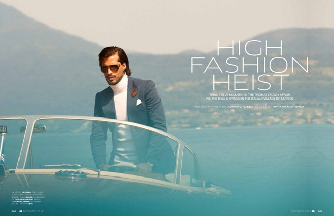 GQ INDIA- Thyago Alves in High Fashion Heist by Adriano Russo. www.imageamplified.com, Image Amplified