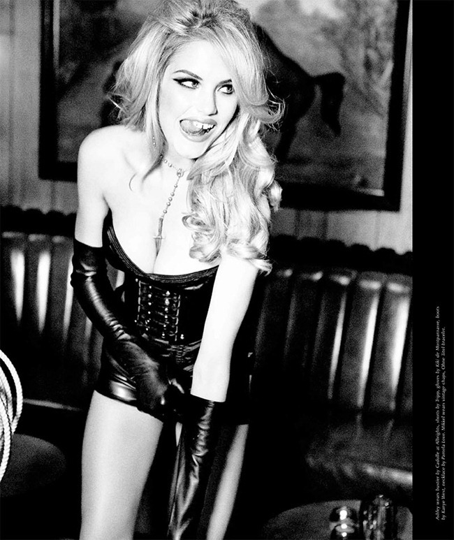 GALORE MAGAZINE- Ashley Smith in Goodbye Horses by Ellen von Unwerth. Anda & Masha. www.imageamplified.com, Image Amplified (6)