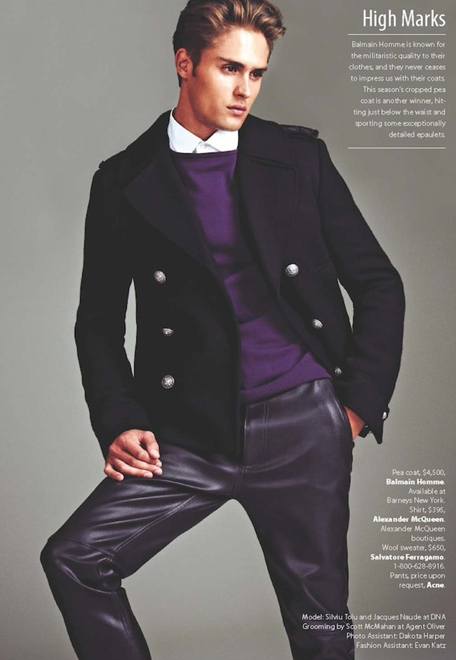 ESSENTIAL HOMME- Silviu Tolu & Jacques Naude in Top Coats by A.P. Kim. www.imageamplified.com, Image Amplified (8)