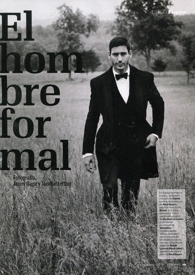 ESQUIRE SPAIN- Andrija Bikic & Vincent Lacrocq in El Hombre Formal by Jenny Gage & Tom Betterton. December 2012, www.imageamplified.com, Image Amplified
