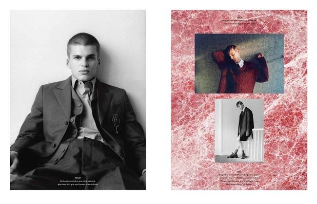 BON MAGAZINE- Felix Feltham, Oliver Beard, Alex Heerema, Gleb Zhulokk & Lukas Katinas in Don't Be Afraid Of The Dark by Brett Lloyd. Fall 2012, www.imageamplified.com, Image Amplified (4)