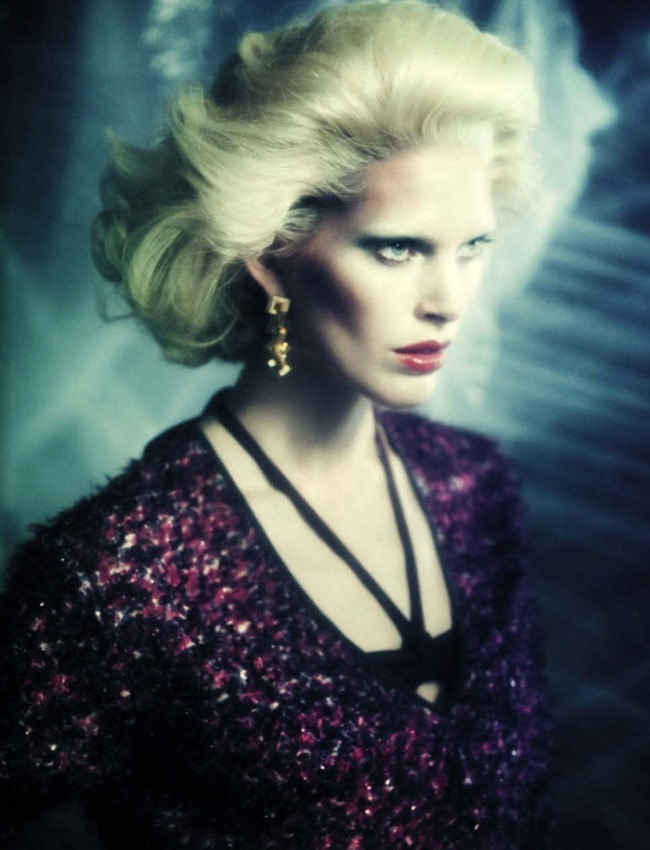 VOGUE ITALIA- Iselin Steiro in A Singular Blond Beauty by Paolo Roversi. Jacob K, December 2012, www.imageamplified.com, Image Amplified (3)