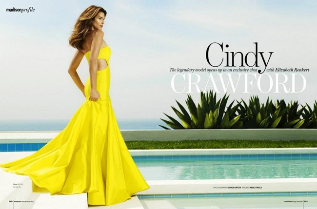 MADISON MAGAZINE- Cindy Crawford by Simon Upton. Milka Prica, www.imageamplified.com, Image Amplified