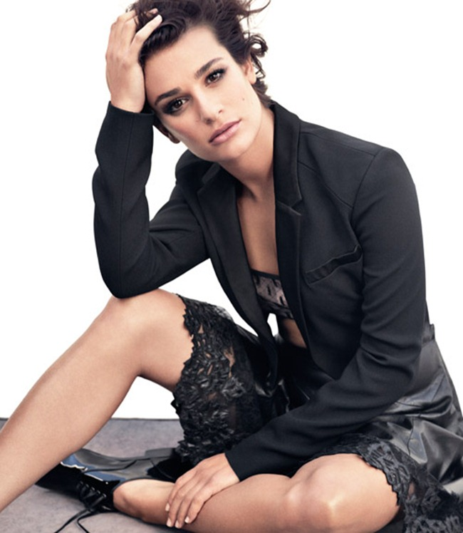 MARIE CLAIRE MAGAZINE- Lea Michele by Andreas Sjodin. January 2013, www.imageamplified.com, Image Amplified (3)