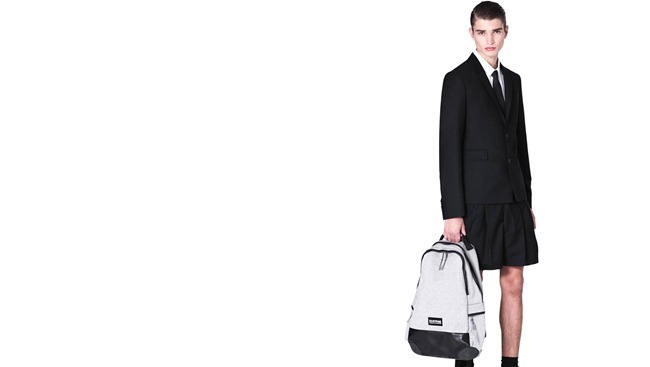 CAMPAIGN- Alexander Ferrario for Eastpak x Kris Van Assche Spring 2013 by Bruno Staub. www.imageamplified.com, Image Amplified