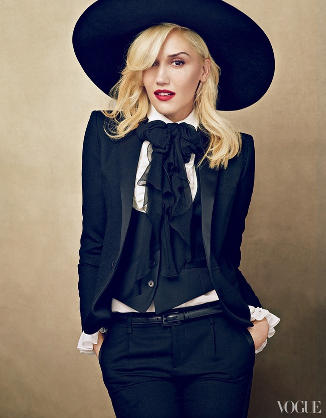 VOGUE MAGAZINE- Gwen Stefani in Leader of the Pack by Annie Leibovitz. January 2013, www.imageamplified.com, Image Amplified