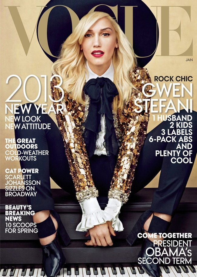 VOGUE MAGAZINE- Gwen Stefani in Leader of the Pack by Annie Leibovitz. January 2013, www.imageamplified.com, Image Amplified (2)