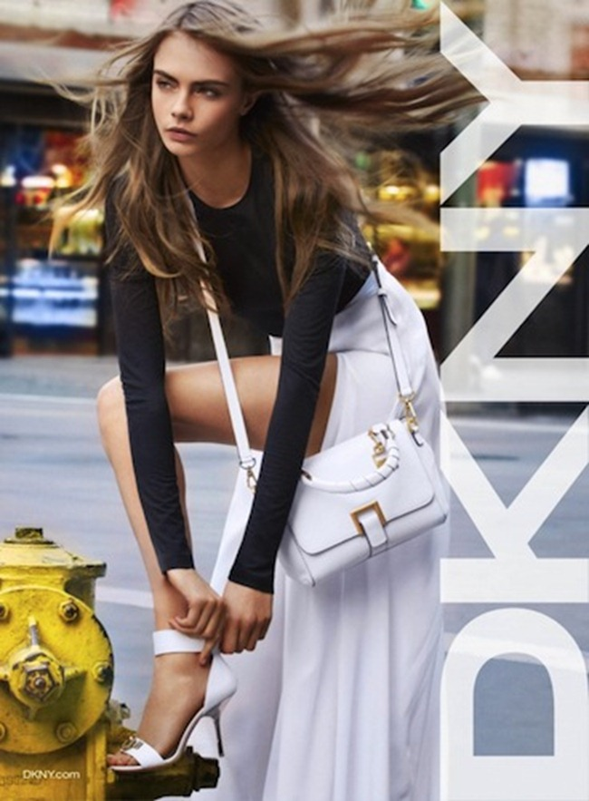 CAMPAIGN- Cara Delevigne for DKNY Spring 2013 by Patrick Demarchelier. www.imageamplified.com, Image Amplified (5)