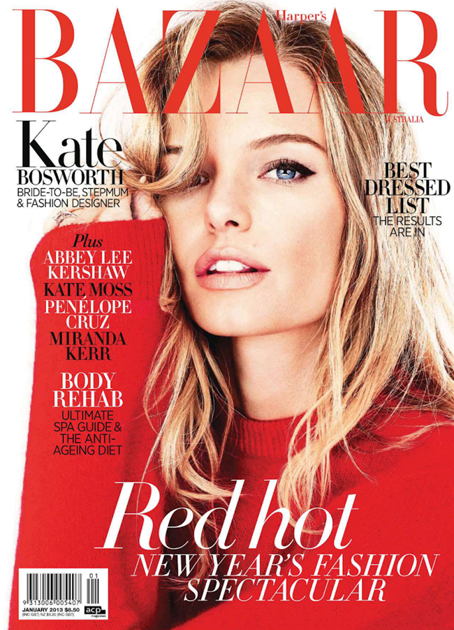 HARPER'S BAZAAR AUSTRALIA- Kate Bosworth by Steven Chee. January 2013, www.imageamplified.com, Image Amplified