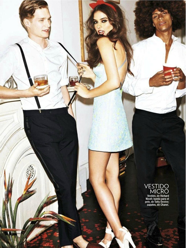 GLAMOUR SPAIN- Olivia Gordon, Caitlin Rickett, Myles Pimental, Dorian & Stephen H in Donde Es La Fiesta by Jennifer Livingston. January 2012, www.imageamplified.com, Image Amplified (4)