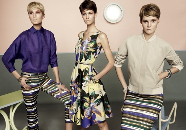 CAMPAIGN- Kendra Spears, Juju Ivanyuk & Toni Garrn for MaxMara Studio Spring 2013 by Giampaolo Sgura. www.imageamplified.com, Image Amplified (4)