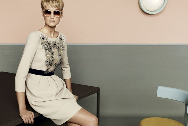 CAMPAIGN- Kendra Spears, Juju Ivanyuk & Toni Garrn for MaxMara Studio Spring 2013 by Giampaolo Sgura. www.imageamplified.com, Image Amplified (3)
