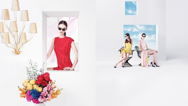 CAMPAIGN- Daria Strokous, Anna Martynova, Daiane Conterato & Marie Piovesan for Christian Dior Spring 2013 by Willy Vanderperre. www.imageamplified.com, Image Amplified (2)