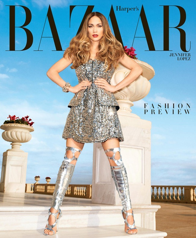 HARPER'S BAZAAR MAGAZINE- Jennifer Lopez by Katjia Rawles. Jodie Barnes, February 2013, www.imageamplified.com, Image Amplified (1)