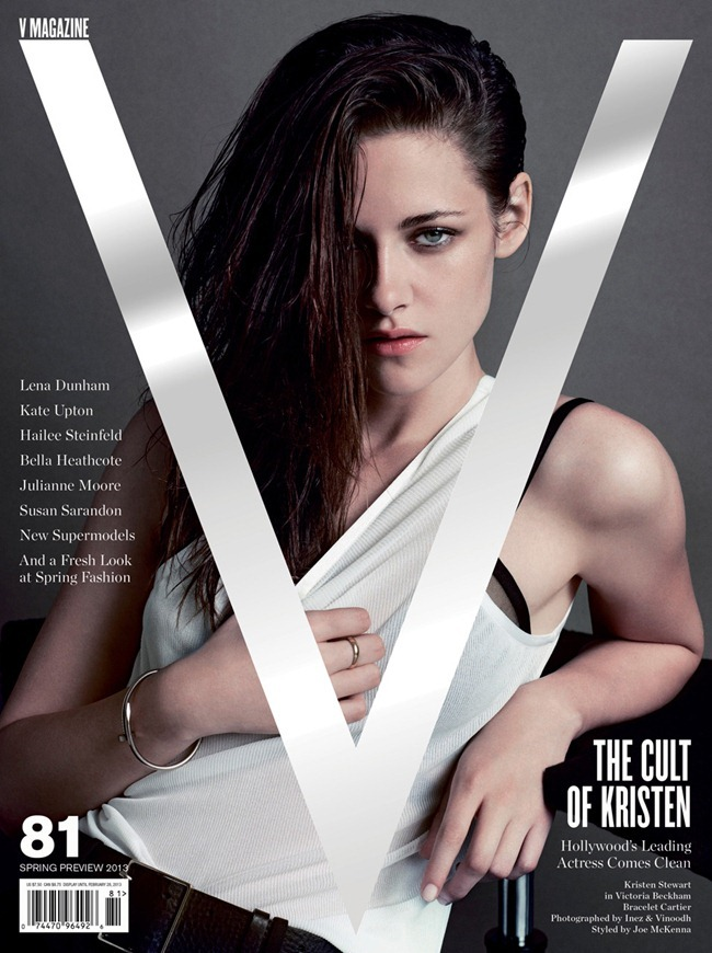 V MAGAZINE- Kristen Stewart in Wild at Heart by Inez & Vinoodh. Spring 2013, www.imageamplified.com, Image Amplified