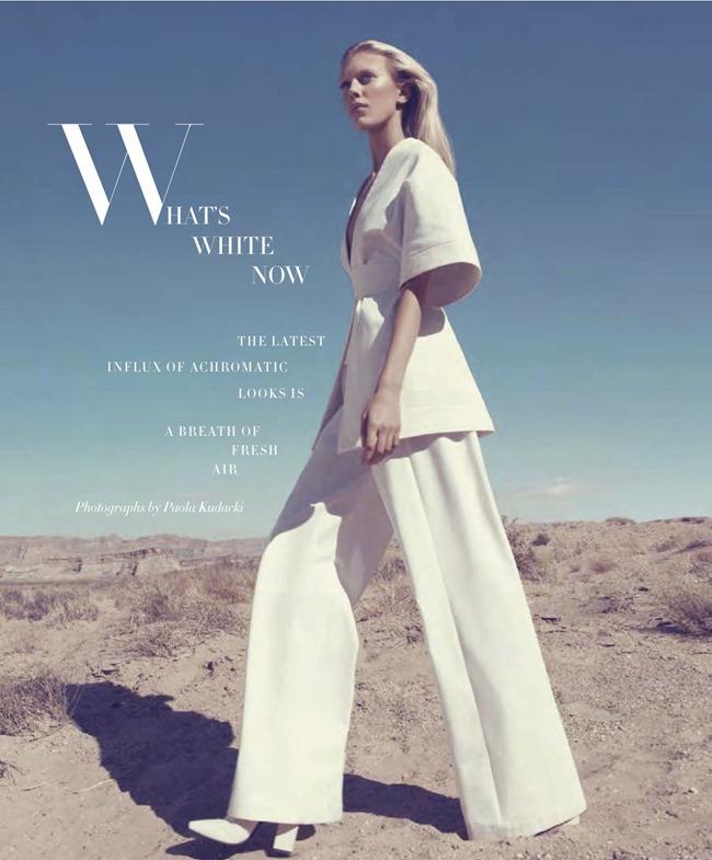 HARPER'S BAZAAR MAGAZINE- Juliana Schurig in What's White Now by Paola Kudacki. Tony Irvine, February 2013, www.imageamplified.com, Image Amplified