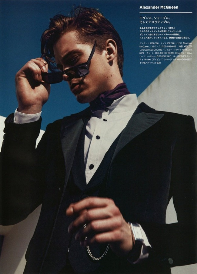 GQ JAPAN- Greg Nawrat in A Natural Elegance by Toshio Onda. Grant Pearce, www.imageamplified.com, Image Amplified