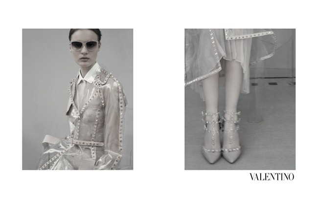 CAMPAIGN- Tilda Lindstam, Codie young, Maud Welzen, Magdalena Jasek & Esther Heesch for Valentino Spring 2013 by Sarah Moon. www.imageamplified.com, Image Amplified