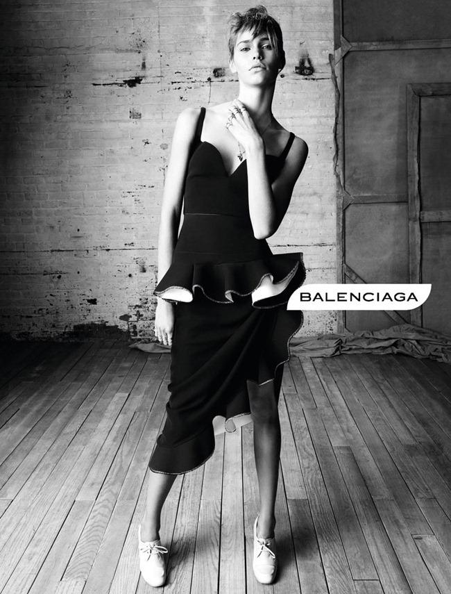 CAMPAIGN- Kremi Otashliyska, Kirstin Liljegren & Sam Rollinson for Balenciaga Spring 2013 by Steven Meisel. www.imageamplified.com, Image Amplified (5)
