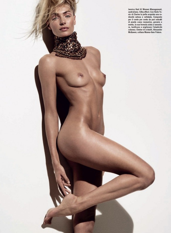 VOGUE ITALIA- Beauty by Tom Munro. Giovanna Battaglia, January 2013, www.imageamplified.com, Image Amplified (3)