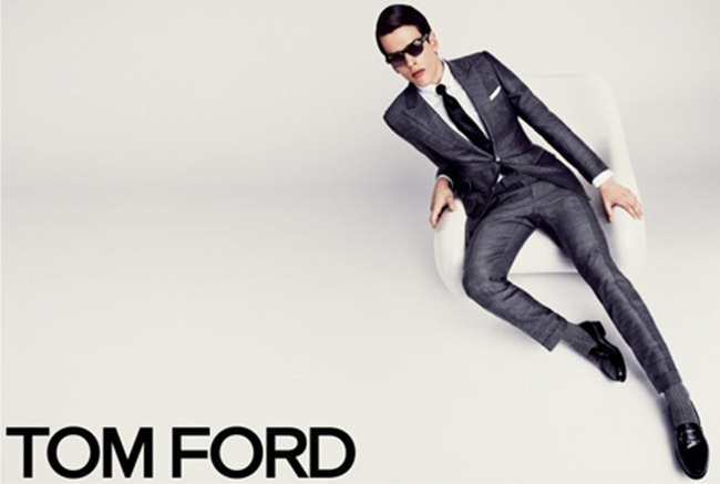 PREVIEW- Karlina Caune & Simon Van Meervenne for Tom Ford Spring 2013 by Tom Ford. www.imageamplified.com, Image Amplified (1)