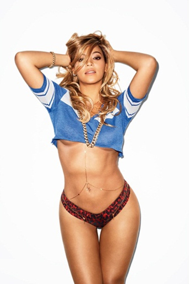 GQ MAGAZINE- Beyonce in Miss Millennium by Terry Richardson. February 2013, www.imageamplified.com, Image Amplified (3)