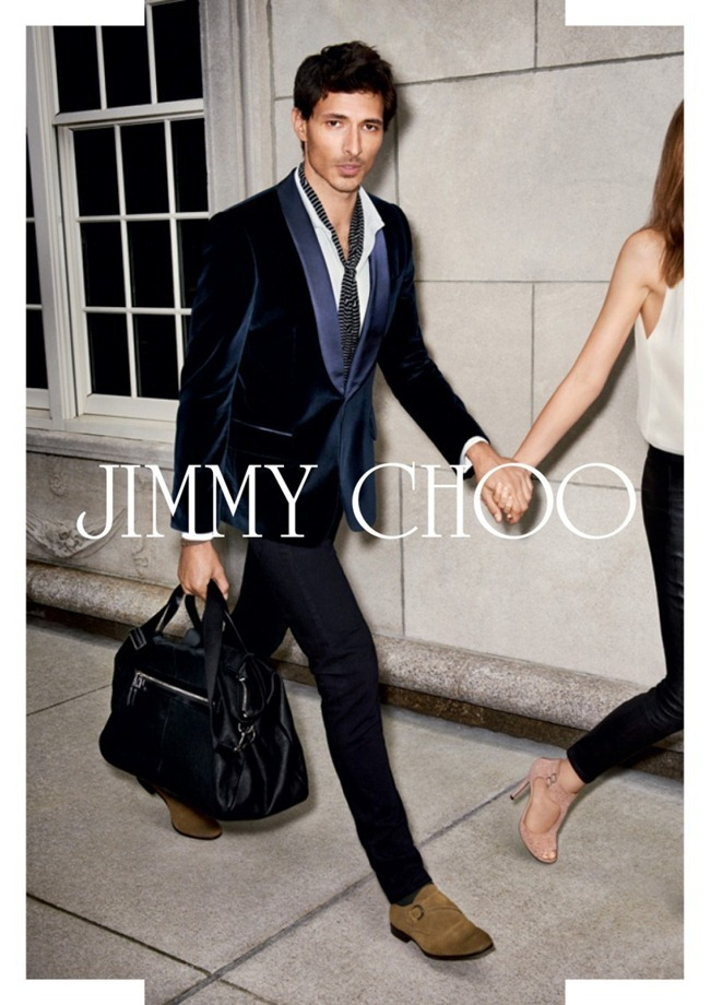 CAMPAIGN- Valerija Kelava & Andres Velencoso Sgura for Jimmy Choo Spring 2013 by Angelo Pennetta. Camilla Nickerson, www.imageamplified.com, Image Amplified (2)