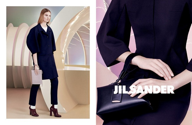 CAMPAIGN- Juliane Gruner for Jil Sander Spring 2013 by David Sims. Joe McKenna, www.imageamplified.com, Image Amplified (2)
