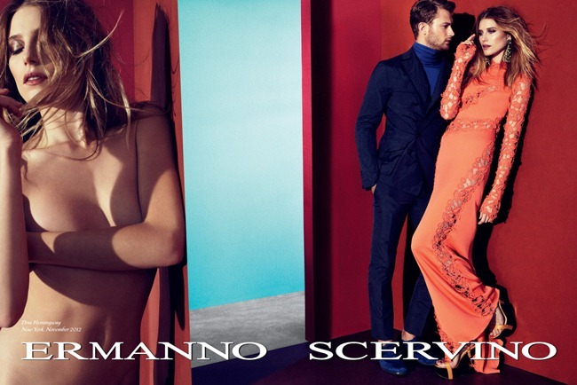 CAMPAIGN- Dree Hemingway & Sebastian Lund for Ermanno Scervino Spring 2013. www.imageamplified.com, Image Amplified (2)