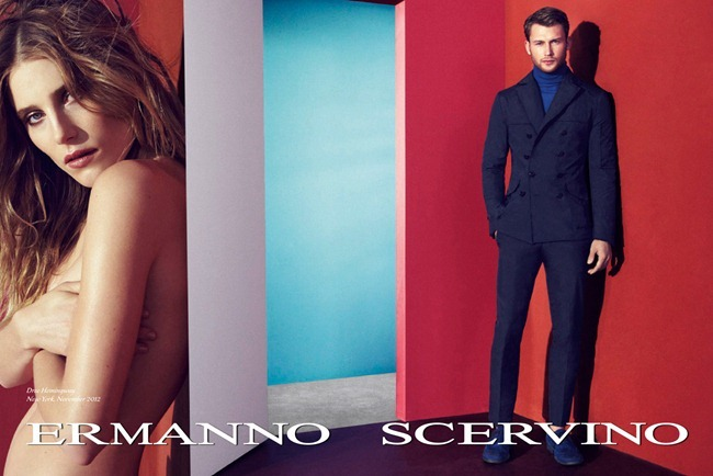 CAMPAIGN- Dree Hemingway & Sebastian Lund for Ermanno Scervino Spring 2013. www.imageamplified.com, Image Amplified (3)