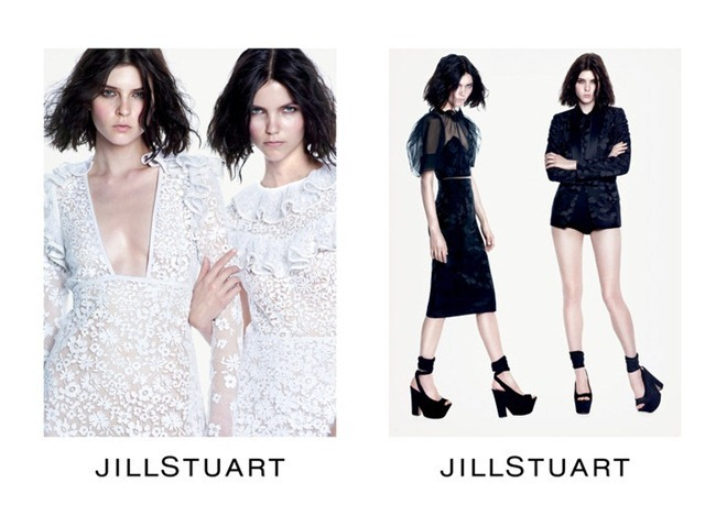 CAMPAIGN- Agnes Nabuurs & Kel Markey for Jill Stuart Spring 2013 by Mario Sorrenti. www.imageamplified.com, Image Amplified (1)
