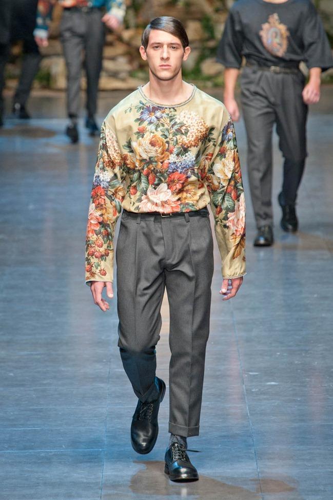 MILAN FASHION WEEK- Dolce & Gabbana Fall 2013. www.imageamplified.com, Image Amplified (46)
