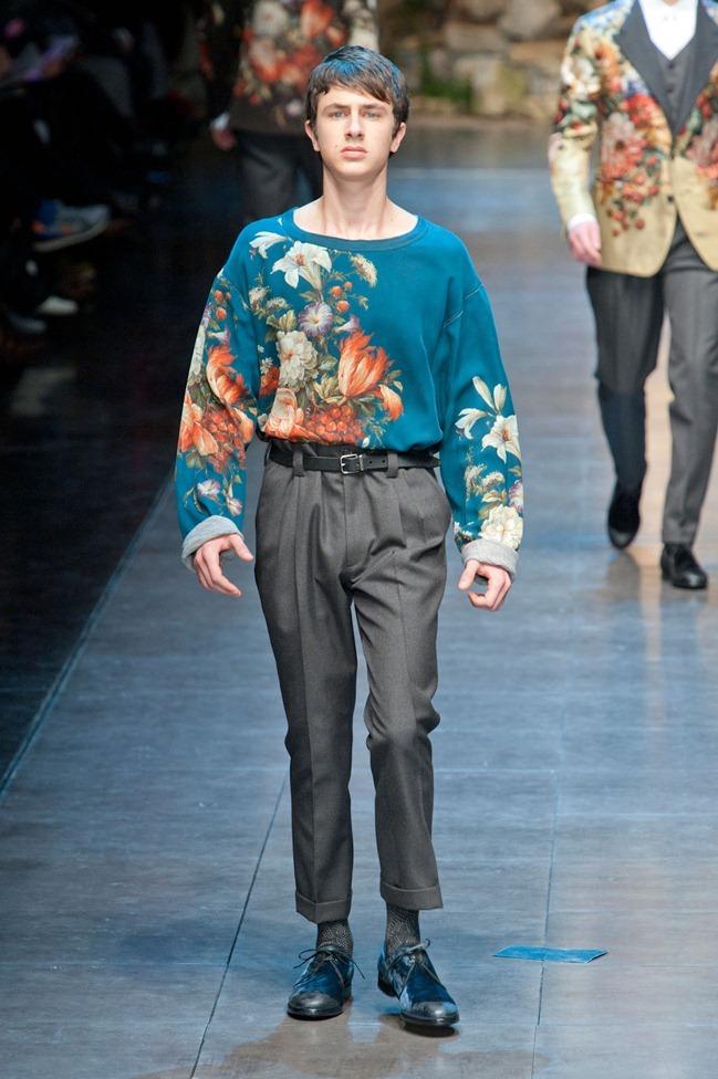 MILAN FASHION WEEK- Dolce & Gabbana Fall 2013. www.imageamplified.com, Image Amplified (48)
