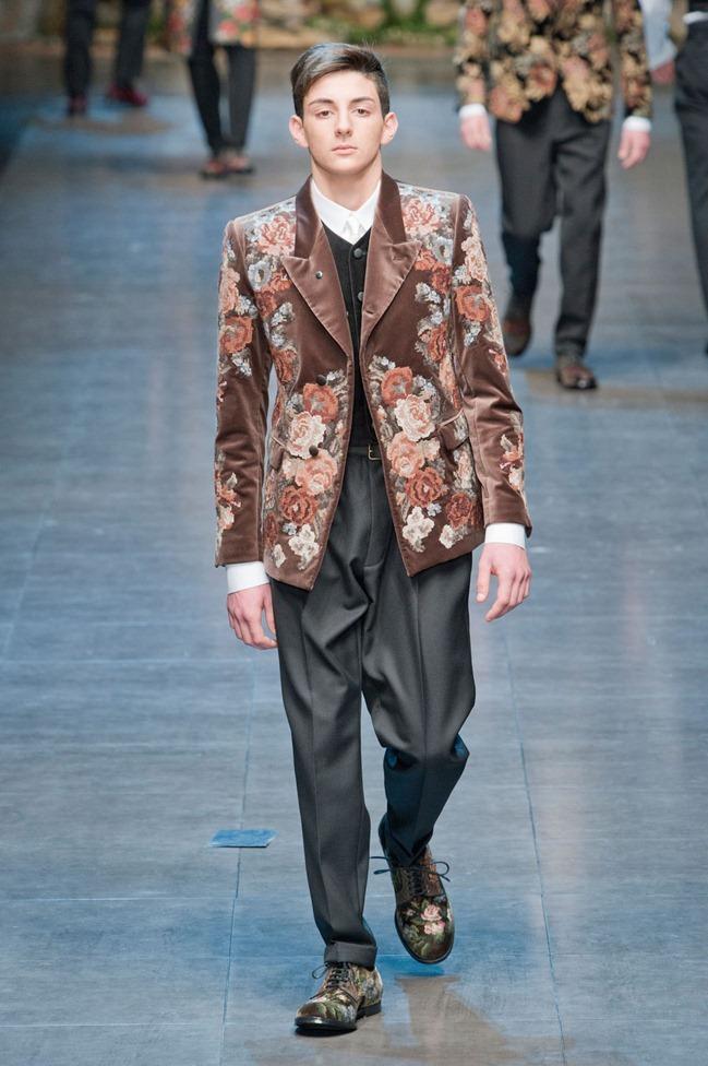 MILAN FASHION WEEK- Dolce & Gabbana Fall 2013. www.imageamplified.com, Image Amplified (76)