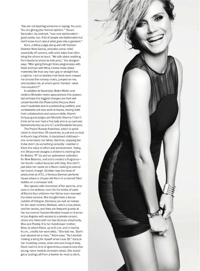 MARIE CLAIRE MAGAZINE- Heidi Klum in The Heidi Chronicles by TEsh. Laura Ferrara, February 2013, www.imageamplified.com, Image Amplified (5)