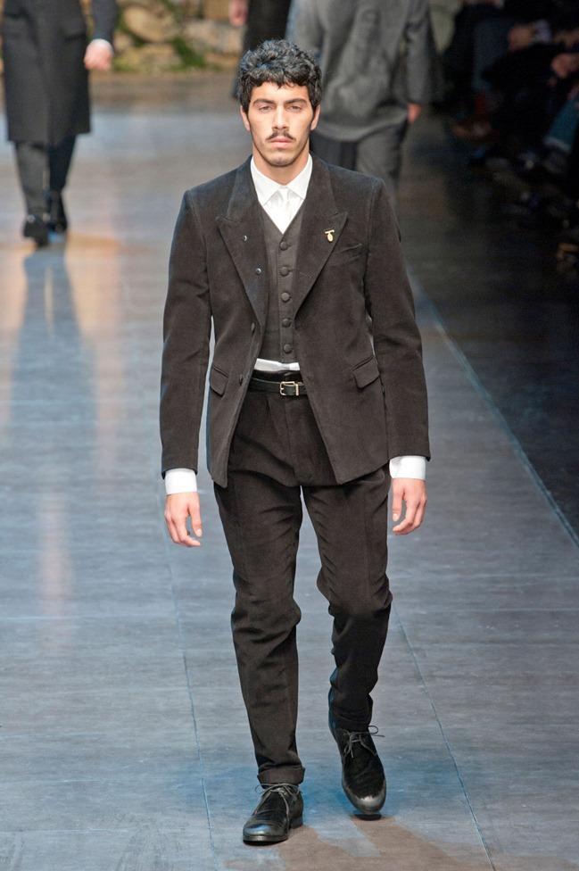 MILAN FASHION WEEK- Dolce & Gabbana Fall 2013. www.imageamplified.com, Image Amplified (26)