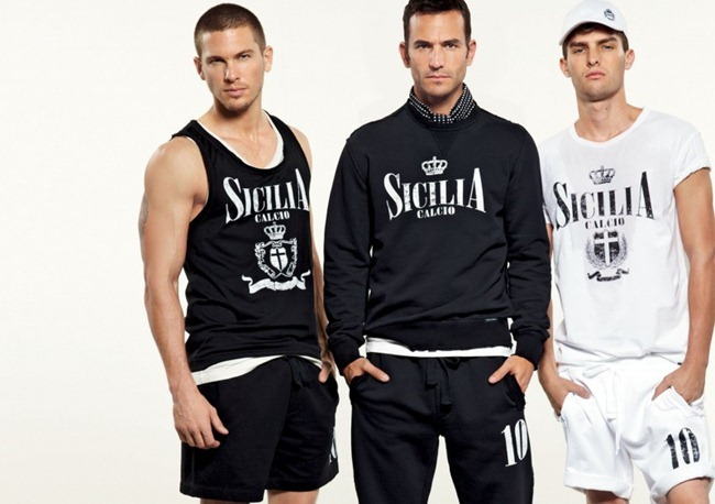 LOOKBOOK- Adam Senn, Enrique Palacios, Elbio Bonsaglio, Paolo Anchisi, Tomas Guarracino & Jae Yoo for Dolce & Gabbana Gym Collection Spring 2013. www.imageamplified.com, Image Amplified (14)