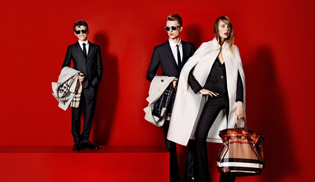 CAMPAIGN- Romeo Beckham, Charlie France, Max Rendell & Alex Dunstan for Burberry Prorsum Spring 2013 by Mario Testino. www.imageamplified.com, Image Amplified (3)