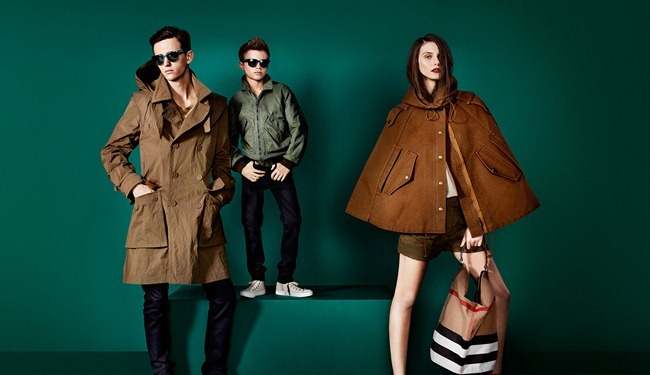 CAMPAIGN- Romeo Beckham, Charlie France, Max Rendell & Alex Dunstan for Burberry Prorsum Spring 2013 by Mario Testino. www.imageamplified.com, Image Amplified (2)