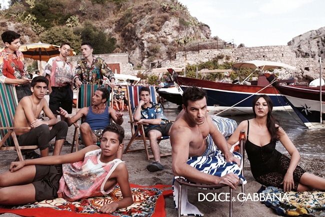 CAMPAIGN- Monica Bellucci & Others for Dolce & Gabbana Menswear Spring 2013 by Domenico Dolce. Stefano Gabbana, www.imageamplified.com, Image Amplified (6)