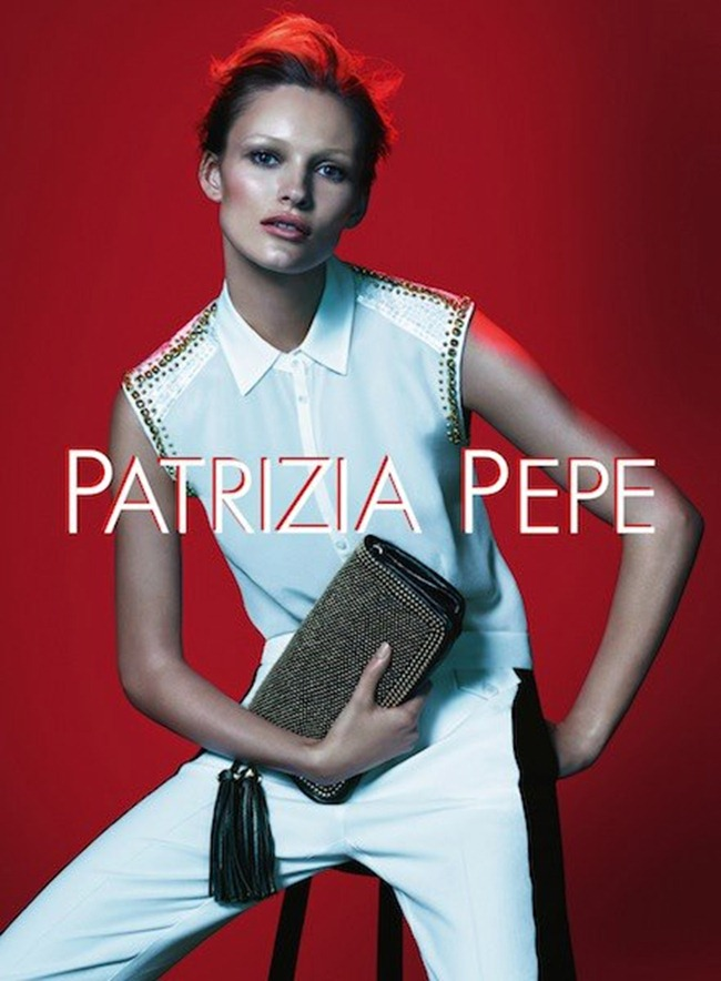 CAMPAIGN- Edita Vilkeviciute for Patrizia Pepe Spring 2013 by Mert & Marcus. www.imageamplified.com, Image Amplified (3)